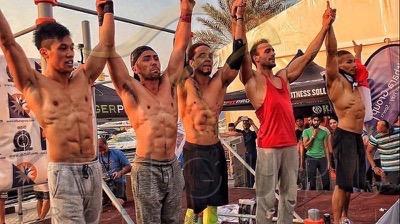 Kenguru Pro Street Workout World Cup stage in Dubai 2016