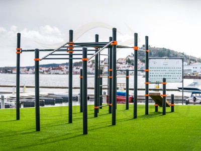 Street workout grounds in Norway, Kenguru Pro equiped