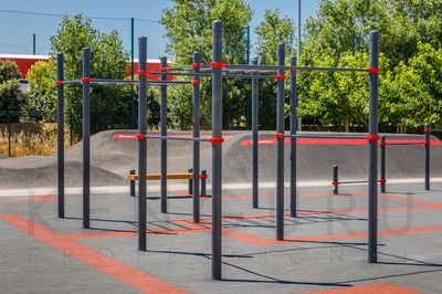 Street workout park in Santiago, Chile - Park Los Arcos