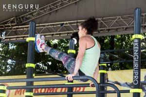 Street Workout World Championship for ladies in Amsterdam, Holland