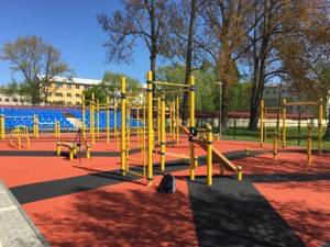 Kenguru Pro outdoor calisthenics park in Ventspils (biggest in Baltics)