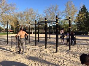 Kenguru Pro open air calisthenics gym