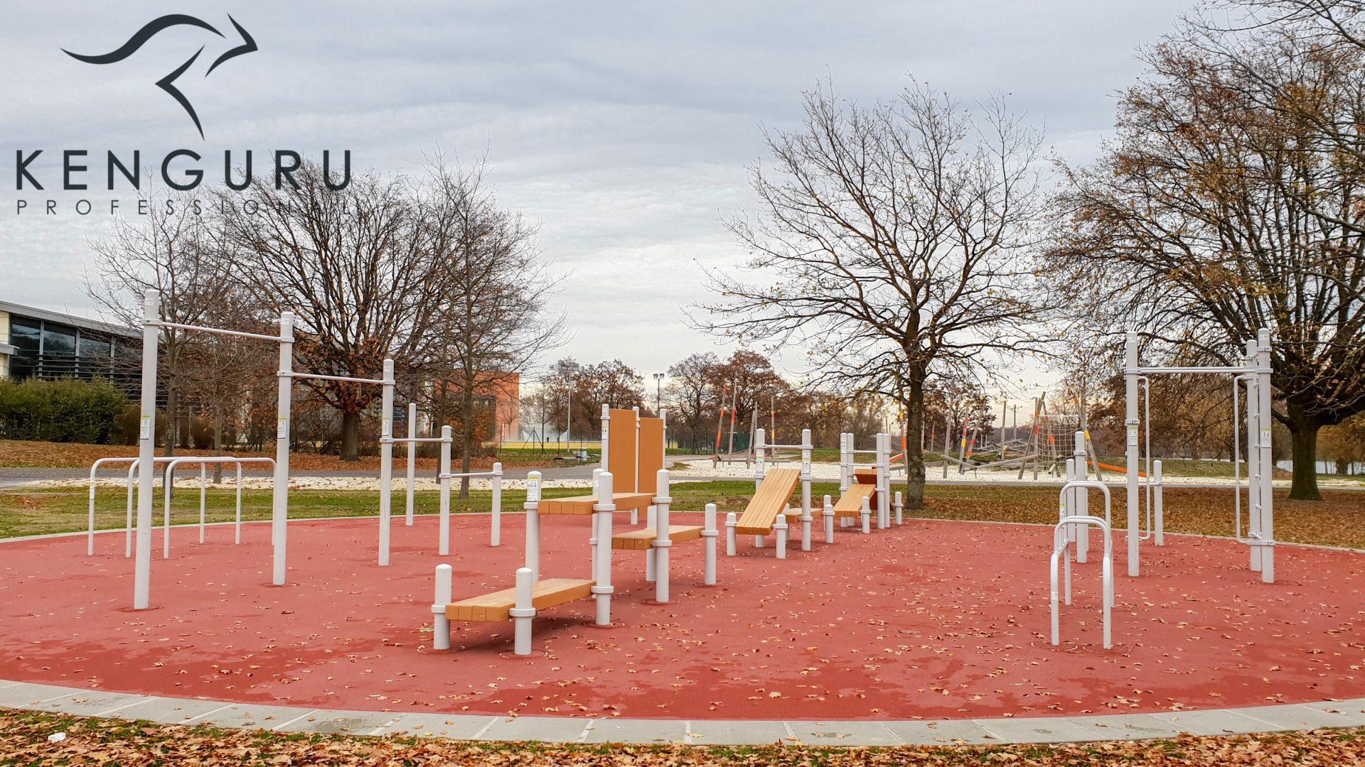 Νέο πάρκο Kenguru Pro που χτίστηκε στο Wolfsburg της Γερμανίας